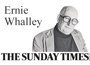 ERNIE WHALLEY of The Sunday Times